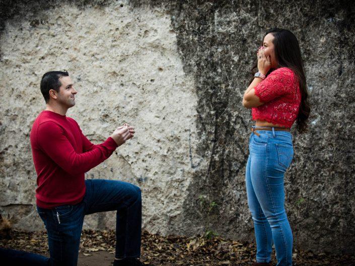 Erica + Michael's Surprise Proposal